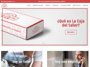 Portal corporativo de la caja del taller